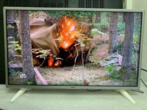 Изображение на телевизоре LG